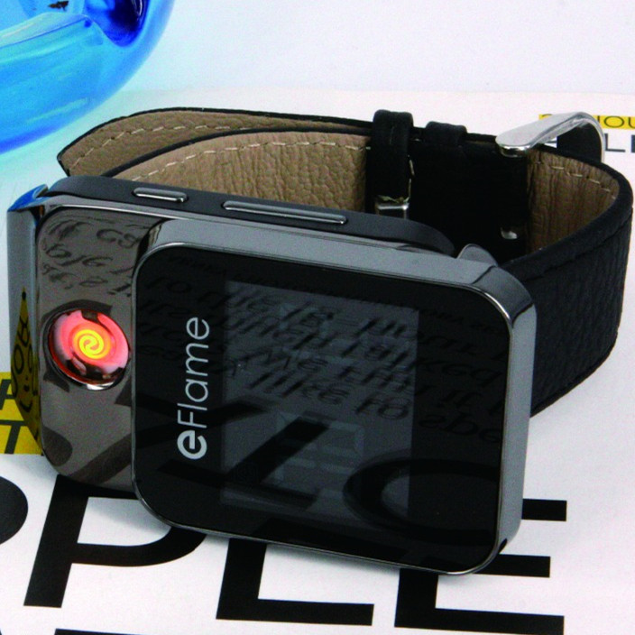 smart usb lighter with rechargeable font b electronic b font watch