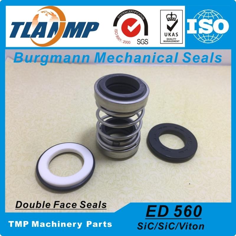 560D 45 Burgmann Double face Mechanical Seals ED560 45 Dual seal For Pump Material CE CA