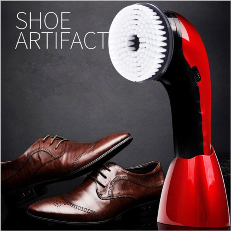 цена Multifunctional Cordless Shoe Cleaning Brush, Electric Automatic Shoe Polish, Leather Sofa Cleaner Polisher онлайн в 2017 году