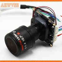 High Resolution 1080P IP Camera Module Board With 2 8 12mm Lens H 264 720P 960P