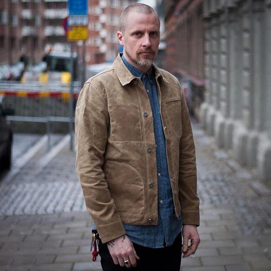 mens waxed canvas jacket
