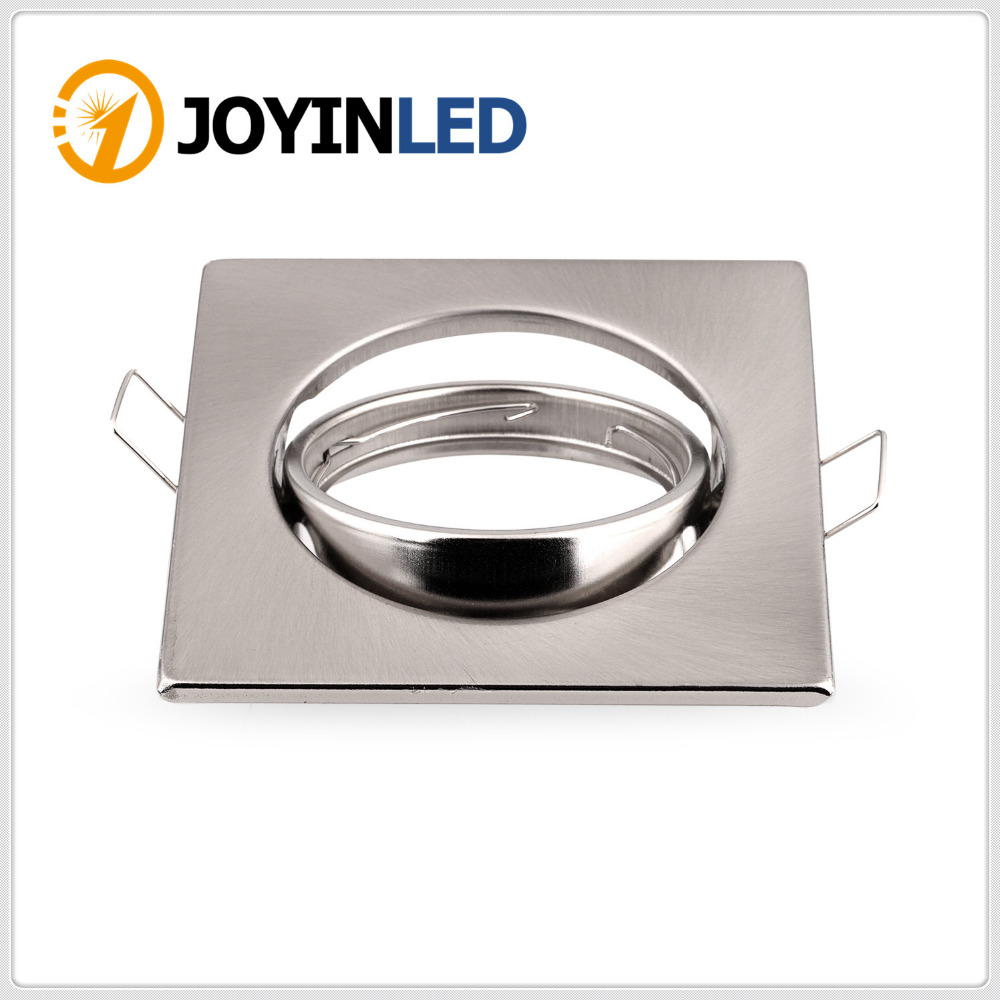 Led Ceiling Spotlight Fixtures: 100pcs Free Shipping Recessed Led Ceiling Spotlight Holder
