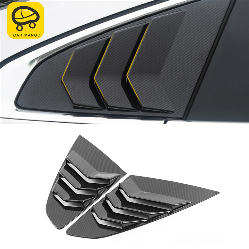 CAR MANGO Car Styling Rear Gate Door Window Cover Trim Sticker Exterior Accessories for VW Arteon CC
