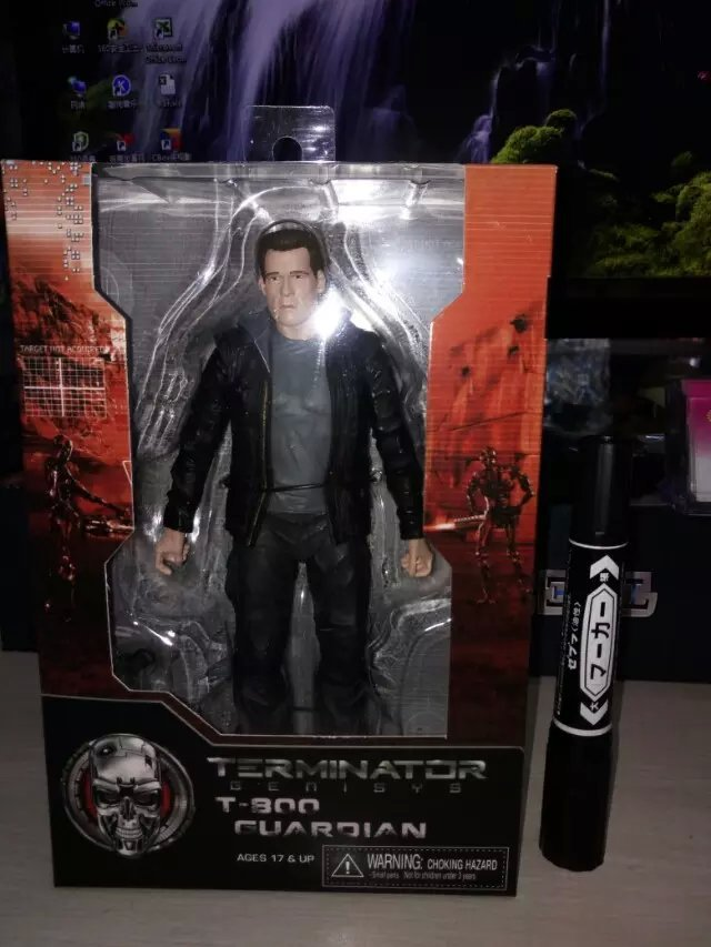 2016 Hot ! NEW 20cm Terminator t-800 action figure toy doll