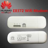 Odblokowany Huawei e8372 klucz 4g samochodów z systemem android 4G LTE modem wifi wifi usb kabel lte modem usb bezprzewodowy dostęp do internetu e8372h-153 4g modem bezprzewodowy