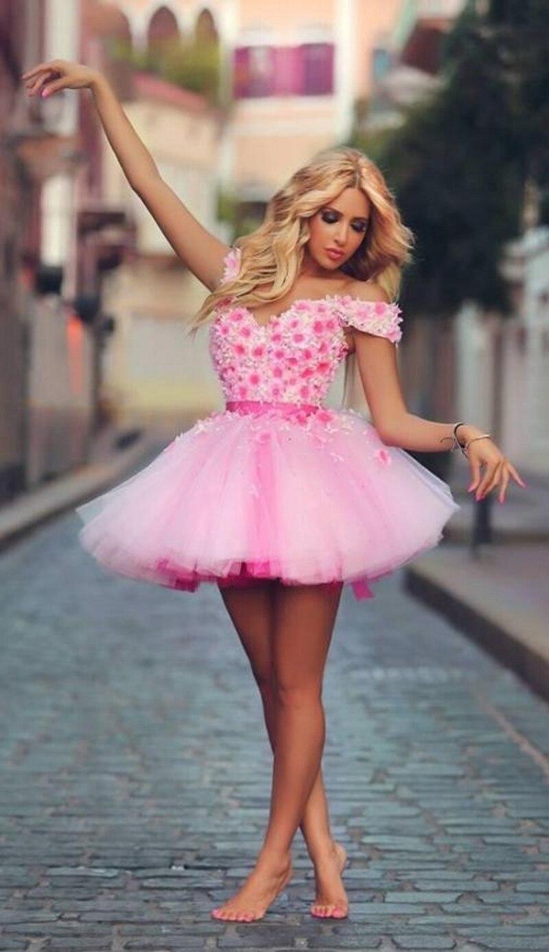 Vestido de fiesta tul rosa – Vestidos de moda blog de fotos del sitio