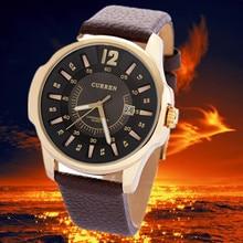 Luxury Brand Men Military Sport Watches Men's Quartz Clock Leather Strap Waterproof Date Wristwatch Reloj Hombre Designer стоимость