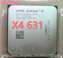 AMD II Athlon X4 631 quad-core scattered pieces CPU fm1 2.6G 4M cpu quad-core (working 100% Free Shipping)