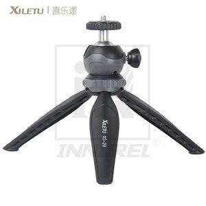 Image 3 - XILETU XS 20 Multifunctional MINI Tabletop ขาตั้งกล้องสำหรับโทรศัพท์มือถือและ DSLR ที่ถอดออกได้ ballhead สองปรับมุม 141g น้ำหนัก