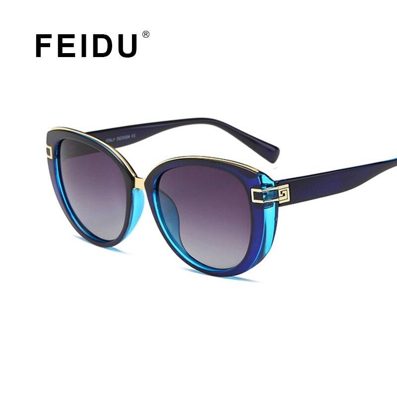 FEIDU Women Brand Sunglasses Men's HD Polarized Sun glasses Luxury UV400 Glasses Celebrity Same Paragraph oculos de sol feminino