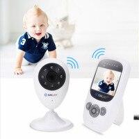 SUNLUXY 2.4'' Color Video Wireless Baby Monitor Night Light Babyphone Security Camera 2 Way Talk Digital Zoom Music Temperature