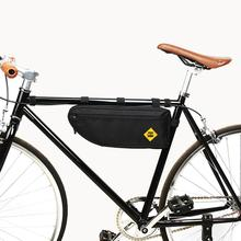 Waterproof B SOUL Bicycle Triangle Bag Bike Frame Front Tube Bag Large capacity Cycling Pannier Packing Pouch Accessories цена в Москве и Питере