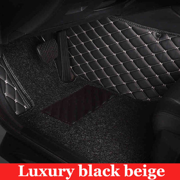 Special made car floor mats for Hyundai Verna Accent Solaris Tucson ix35 Santa Fe foot case rugs full cover car styling liners