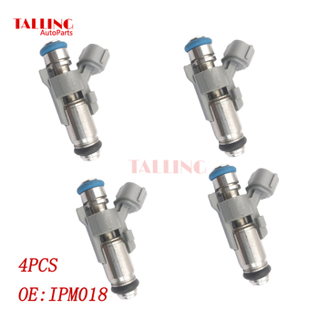 ANLILU new 4pcs Fuel Injector IPM018 IPM-018 for Peugeot 206 207 307 Citroen C3 C4 1.4 Chery QQ0.8