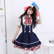 Pretty japanese anime love live hoshizora rin dulces uniforme de sirvienta princesa vintage lolita dress cosplay por encargo