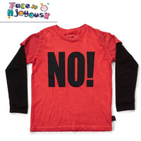 Baby Boys Long Sleeve Tops Tshirts Toddler Girls No T Shirt Kids Cotton Clothes Baby Clothing