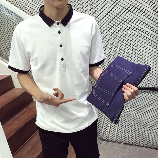 Summer Casual Men polo shirts xxxl xxxxl xxxxxl xxxxxxl Short sleeve White Black Gray Plus size 3xl 4xl 5xl 6xl Slim