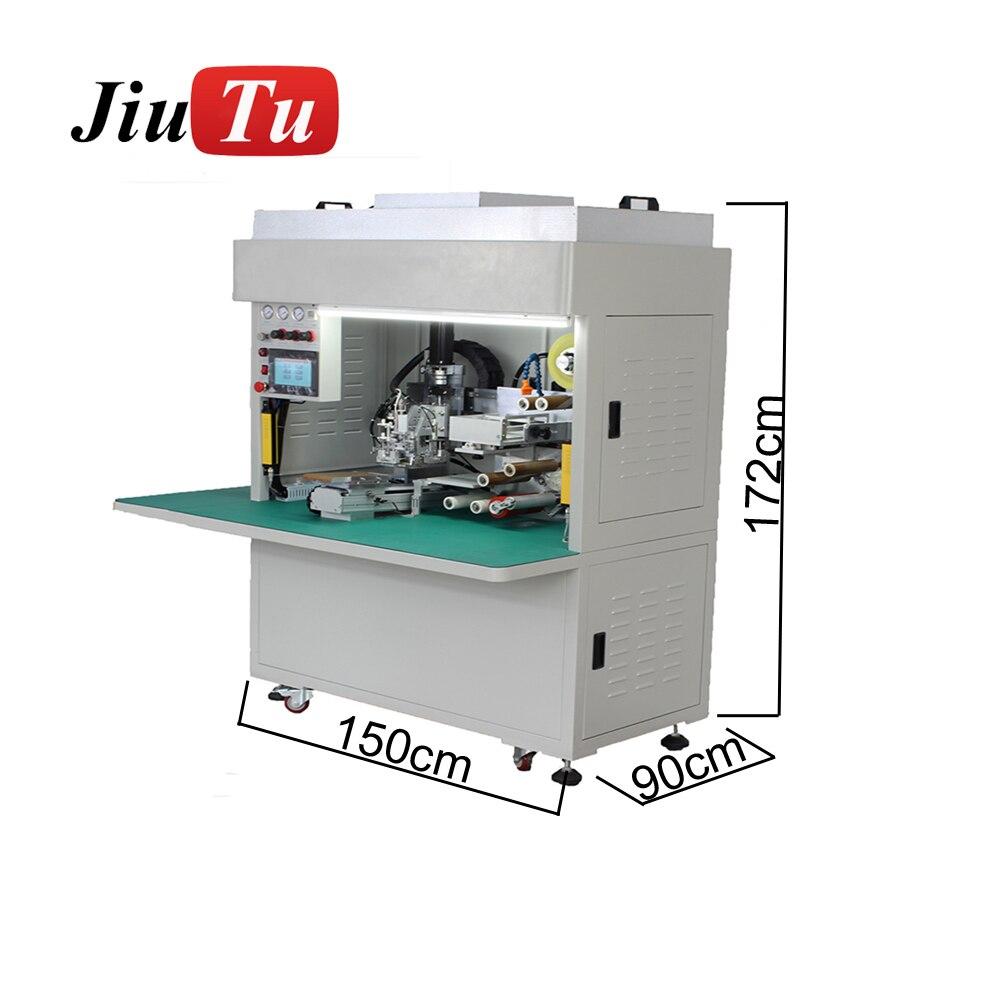Full Automatic Film Lamination Machine Mobile LCD Panel Glass OCA Film Polarizer Film Phone Repair Machine jiu(9)