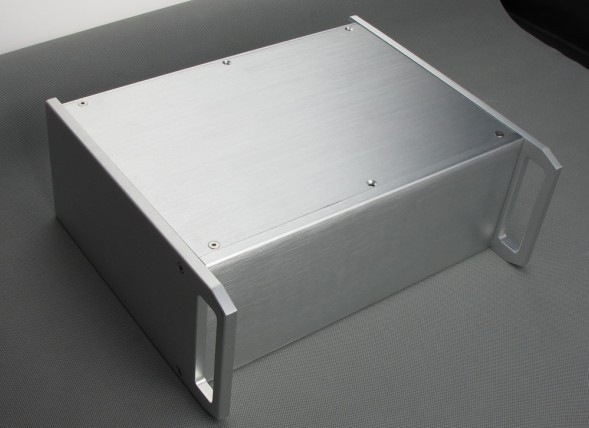 BZ3212 DIY chassis Full Aluminum amplifier Enclosure/mini AMP case/dac box 4308 rounded chassis full aluminum enclosure power amplifier box preamplifier chassis