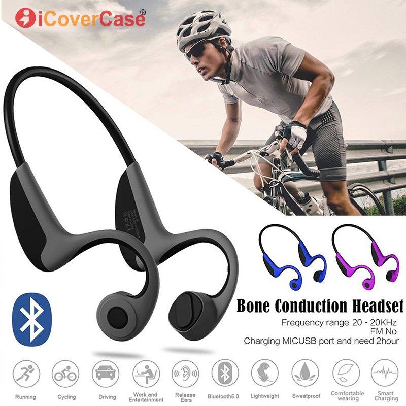 Écouteurs sans fil Bluetooth à Conduction osseuse pour Huawei P30 Pro P20 Lite Mate 20 10 9 P10 Plus P9 P8 Lite 2017