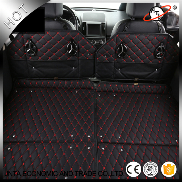 New type multifunction top leather car stowing tidying car trunk storage box car bed car seat & New type multifunction top leather car stowing tidying car trunk ...