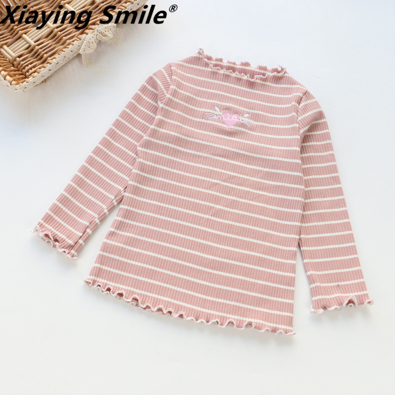 Baby LU lu Clothing Children O-Neck Royal Blue Long Sleeve Shirt Kid Clothes Fashion all-match Casual Comfortable Full cotton stylish cowl neck long sleeves color match batwing irregular design cotton blend sweater for women