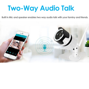 Image 3 - 8CH audio talK HD Wireless LCDNVR Kit P2P 1080P Indoor Outdoor IR Night Vision Security 2.0MP IP Camera WIFI CCTV System