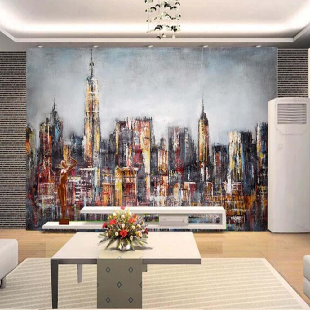3d Graffiti City 0003 Views Wallpaper Mural Wall Print Decal Wall