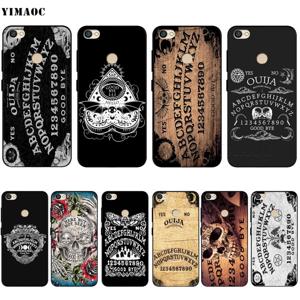 Ouija <font><b>Board</b></font> Case for Xiaomi Redmi <font><b>Note</b></font> 4 4x 4A 5 5A 6 7A <font><b>8</b></font> 8T Pro Prime Plus K20 K30 Poco X2 image
