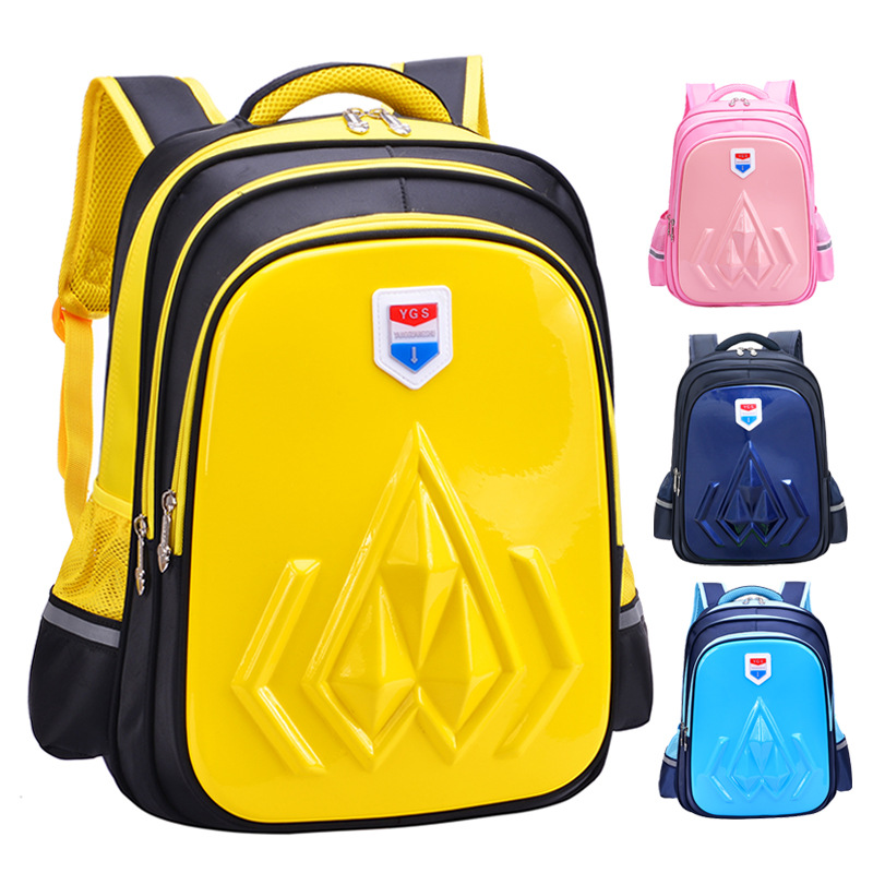 Waterproof Children School Bags Girls Boy 3D