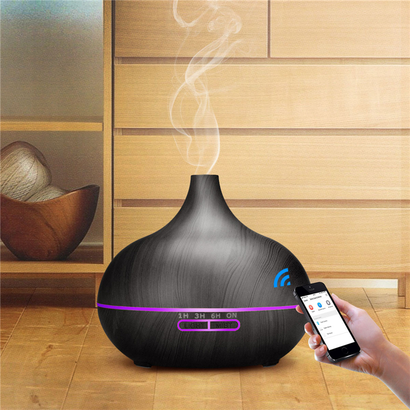 550ml WiFi Ultrasonic Humidifier Phone Control Essential Oil Aroma Diffuser Remote Control Air Humidifier Purifier Mist Maker 31