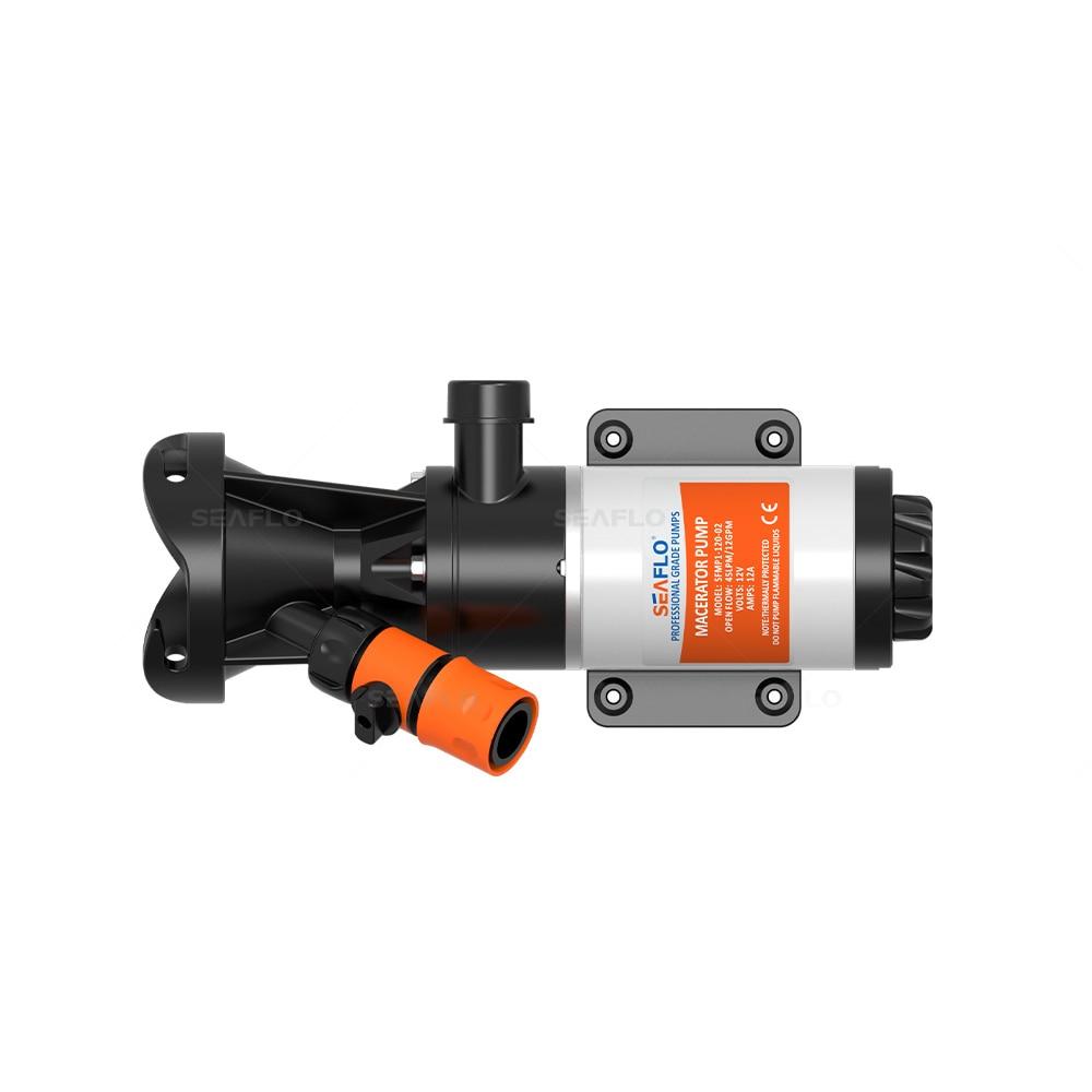 Sewage Pump Suppliers SEAFLO 12V Sump Effluent Pump 12 GPM 45 LPM Wastewater Dewatering Pumps for Marine RV Caravan