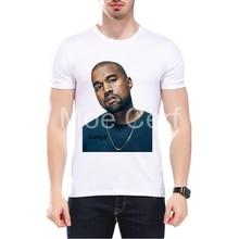 MOE CERF 2017 Summer Fashion Men T shirt KANYE WEST Music Tops Hiphop Fans Star Printed Tshirt Hipster Cool Tee L9-J-129