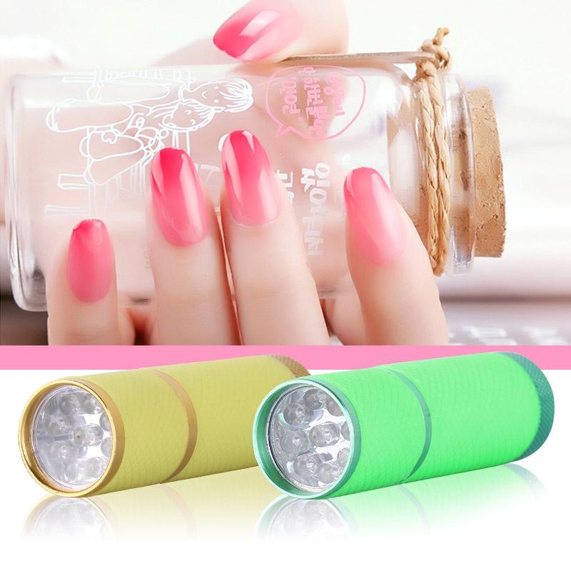Aliexpress Belen 9w Nail Dryer Mini Led Flashlight Uv L Portable For Gel Curing Cure Manicure 1pcs From