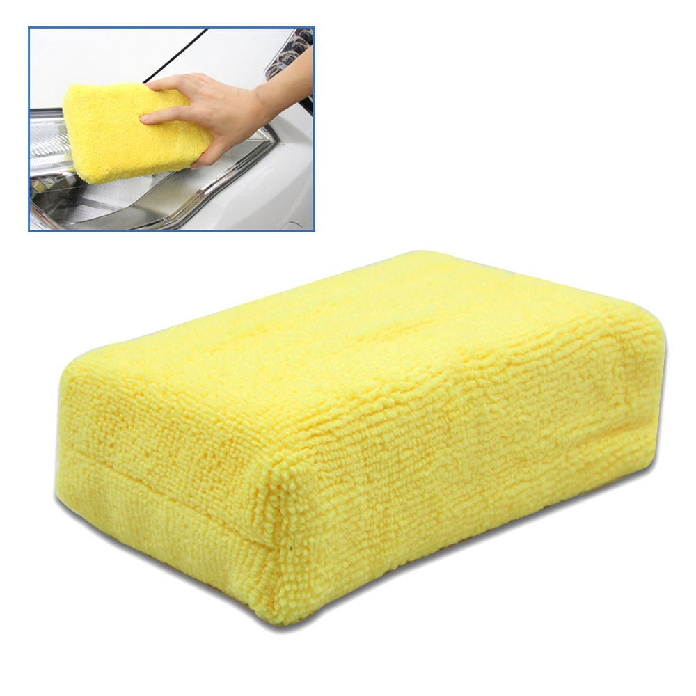 100% High Quality Car Stying Professional Microfiber Car Cleaning Sponge Cloth Multifunctional Wash Washing Cleaner Cloths