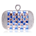Glasses Bling Bling Women Evening Bags Finger Ring Diamonds Day Clutches Purse Evening Bag Rhinestones Crystal Purse