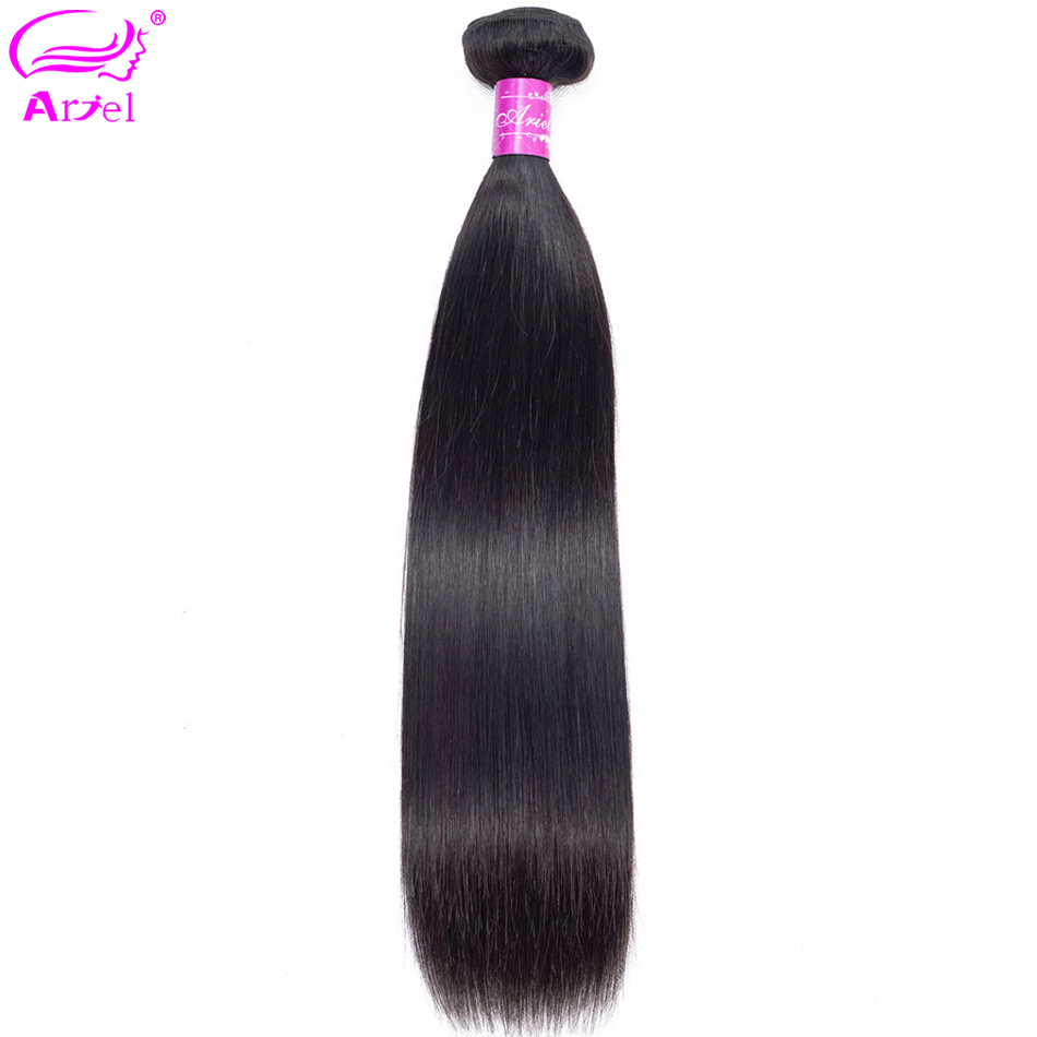 Ariel Hair Extension Straight Bundles Brazilian Hair Weave Bundles 28 32 30 Inch Bundles Non Remy Double Weft Human Hair Bundles