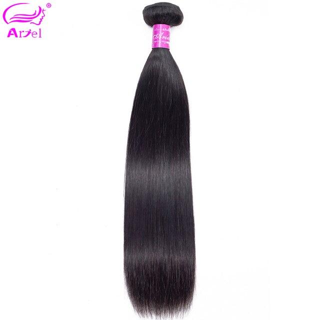 Ariel Hair Extension paquetes rectos pelo brasileño armadura paquetes 8 a 30 pulgadas paquetes no Remy doble trama cabello humano paquetes