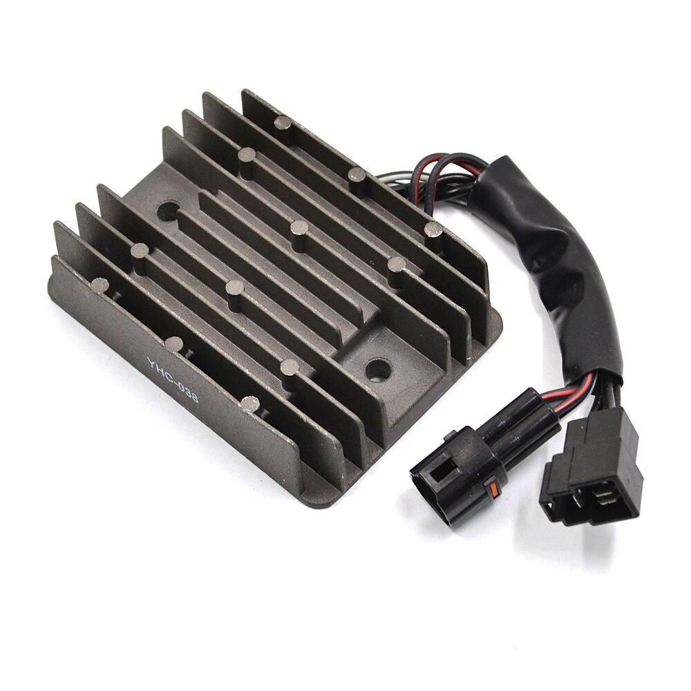 цена на YHV-038 Motorcycle Metal Voltage Regulator Rectifier For Suzuki GSXR 600 750 1000 GSX650 F SV1000 SV650 SFV650 GSF1250 DL650