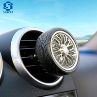 SEBTER Car Styling Air Conditioning Vent Air Freshener Car Tires Outlet Perfume Colors Auto Interior Decoration Car Accessories
