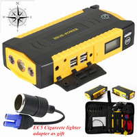 12V Petrol Diesel Multi Function 69800mAh Car Jump Starter 600A Peak Car Charger Top 4USB Power