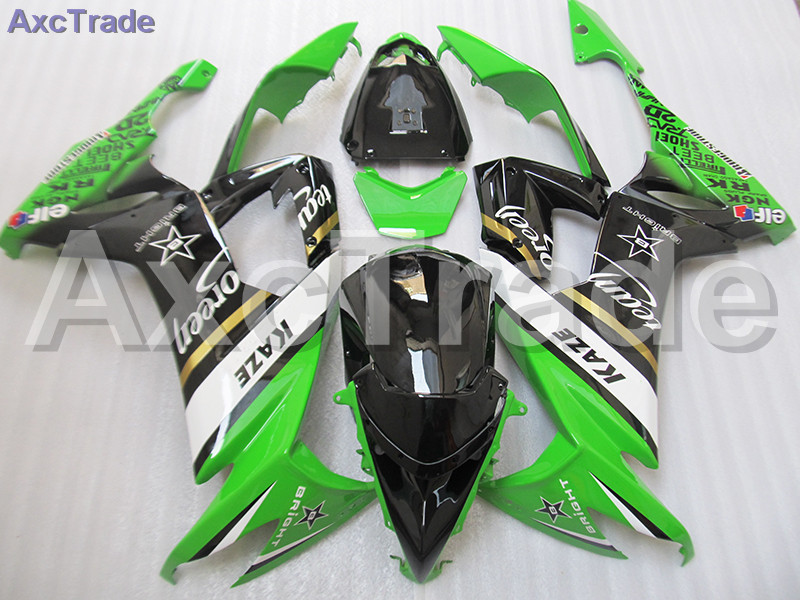 Fit For Kawasaki Ninja ZX10R ZX-10R 2008 2009 2010 08 09 10 Motorcycle Fairing Kit High Quality ABS Plastic Injection Molding moto motorcycle fairing kit for kawasaki ninja zx10r zx 10r 2008 2009 2010 08 09 10 abs plastic fairings fairing kit white black