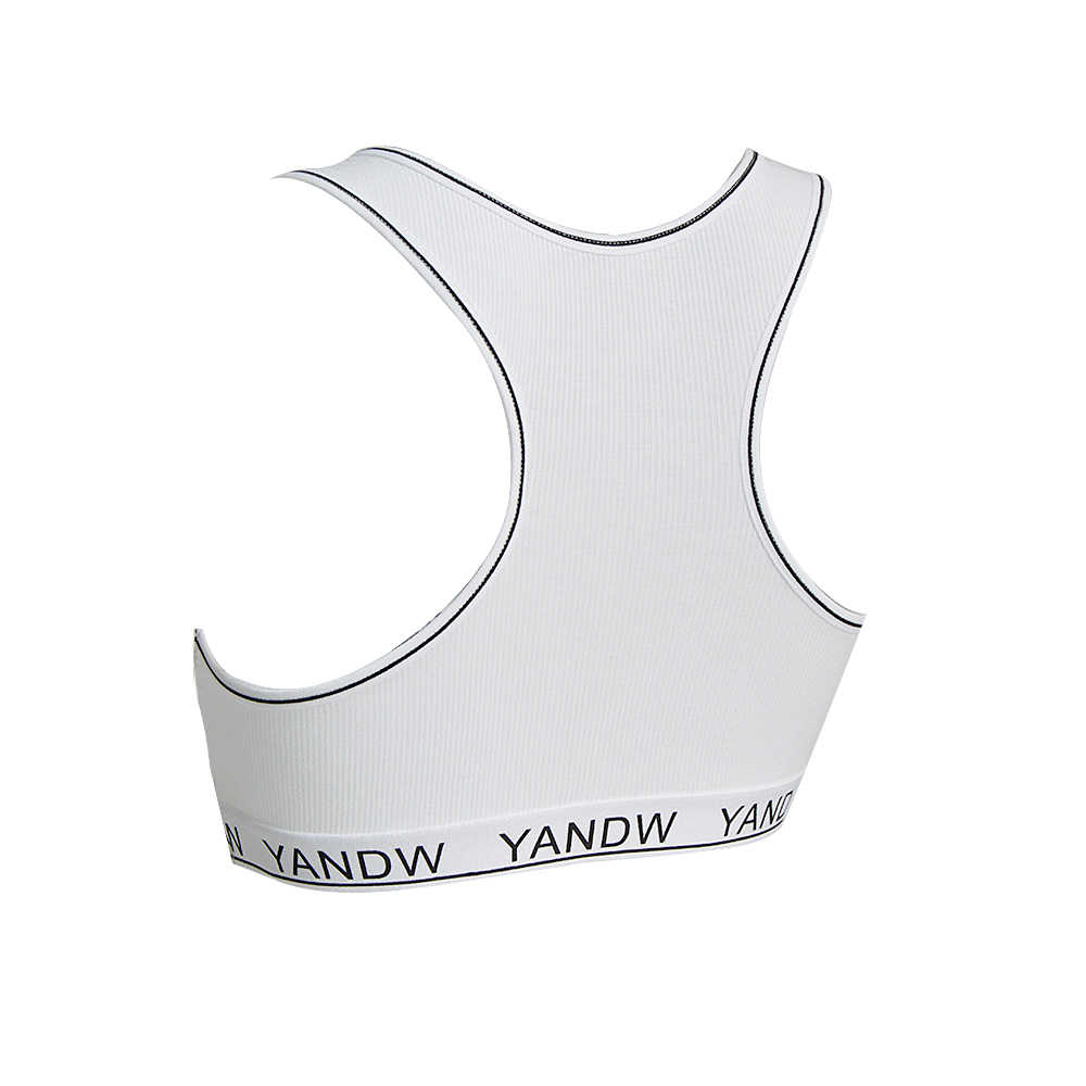YANDW бюстгальтеры для женщин сексуальный топ спортивная повязка грудь пляжное повседневное нижнее белье гоночный Повседневный женский бюстгальтер Boob короткие на открытом воздухе BH