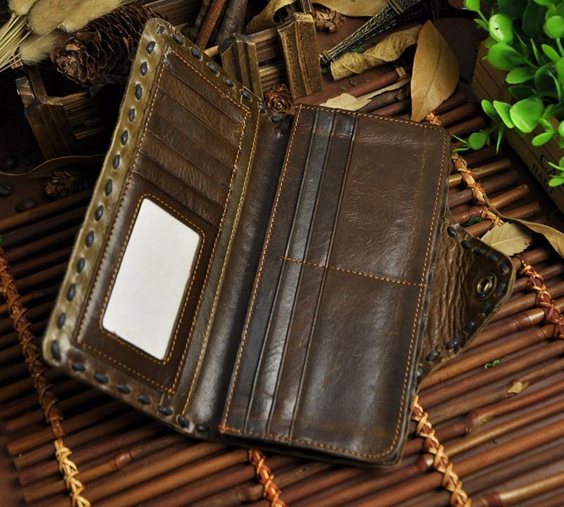 vaca genuína dinheiro bolsas carteira Tipo de Ítem : Wallet/purse