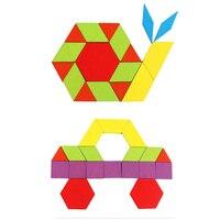 لعبة ألغاز جديدة على شكل لغز لعبة أطفال مونتيسوري خشبية أشكال تشريح إبداعية للأطفال لعبة تعليمية-في ألغاز من الألعاب والهوايات على