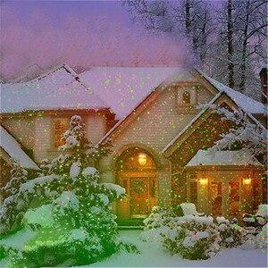 Image 5 - في الهواء الطلق تتحرك كامل السماء ستار ليزر عيد الميلاد العارض مصباح الأخضر والأحمر LED ضوء المرحلة في الهواء الطلق المشهد الحديقة مصباح حديقة