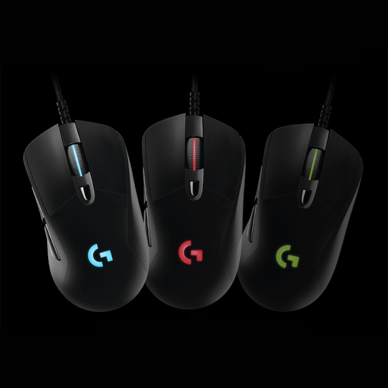 bd22b0dd017 Original Logitech G403 Gaming Mouse Wired RGB Game Mouse for Mouse Gamer  Support Desktop/ Laptop Support Windows 10/8/7-in Mice from Computer &  Office on ...