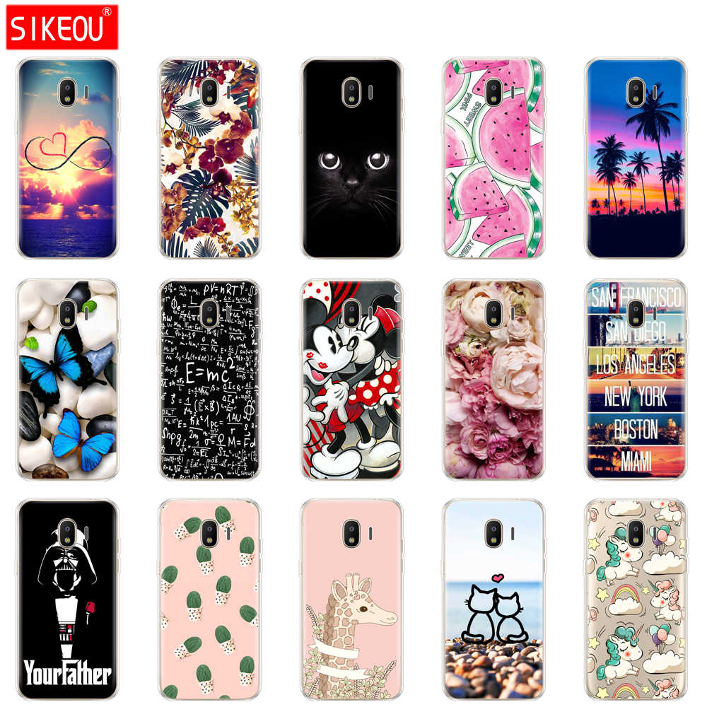 Soft TPU Case For Samsung Galaxy J2 SM J200F J200H Case for
