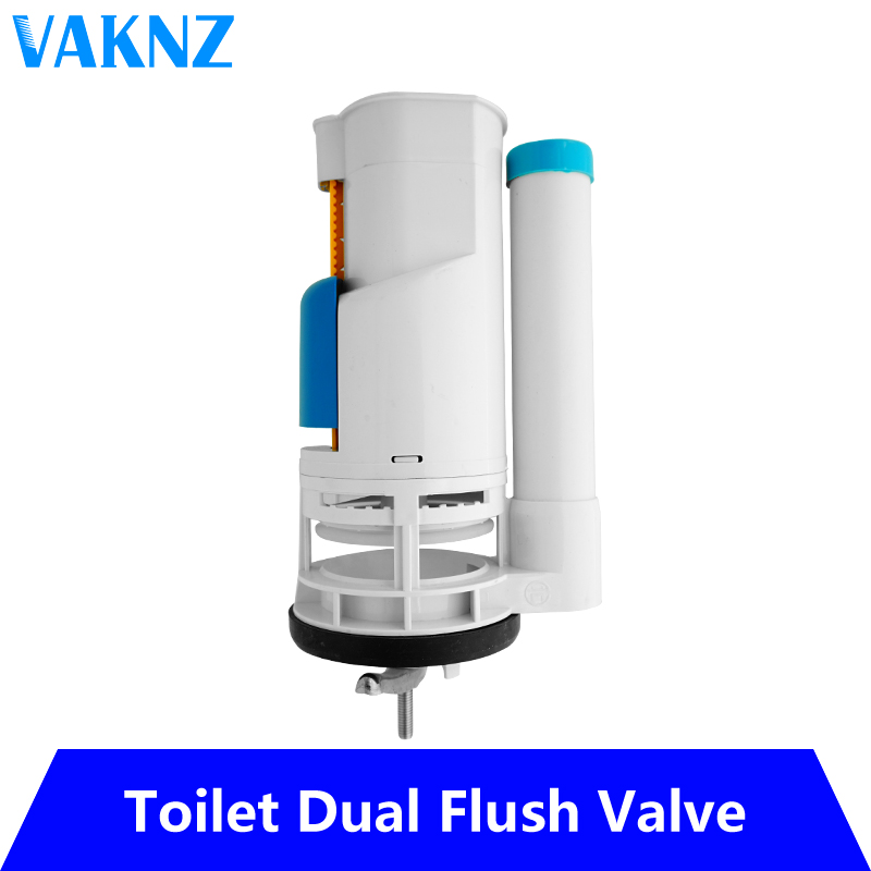 18.5cm(7.28inch)small Size Toilet Tank Fittings Valve Dual-flush Toilet Valve Suitable For One-piece Toilet