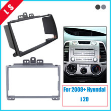 Car refitting DVD frame,DVD panel,Dash Kit,Fascia,Radio Frame,Audio frame for 08 Hyundai i-20, 2DIN